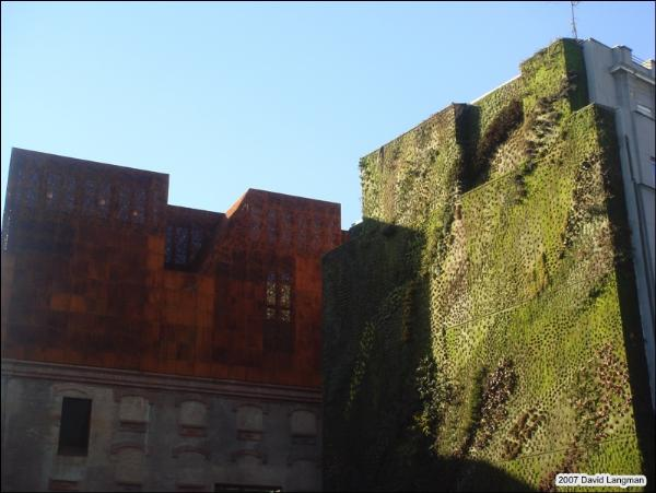 Living wall, Madrid 2008